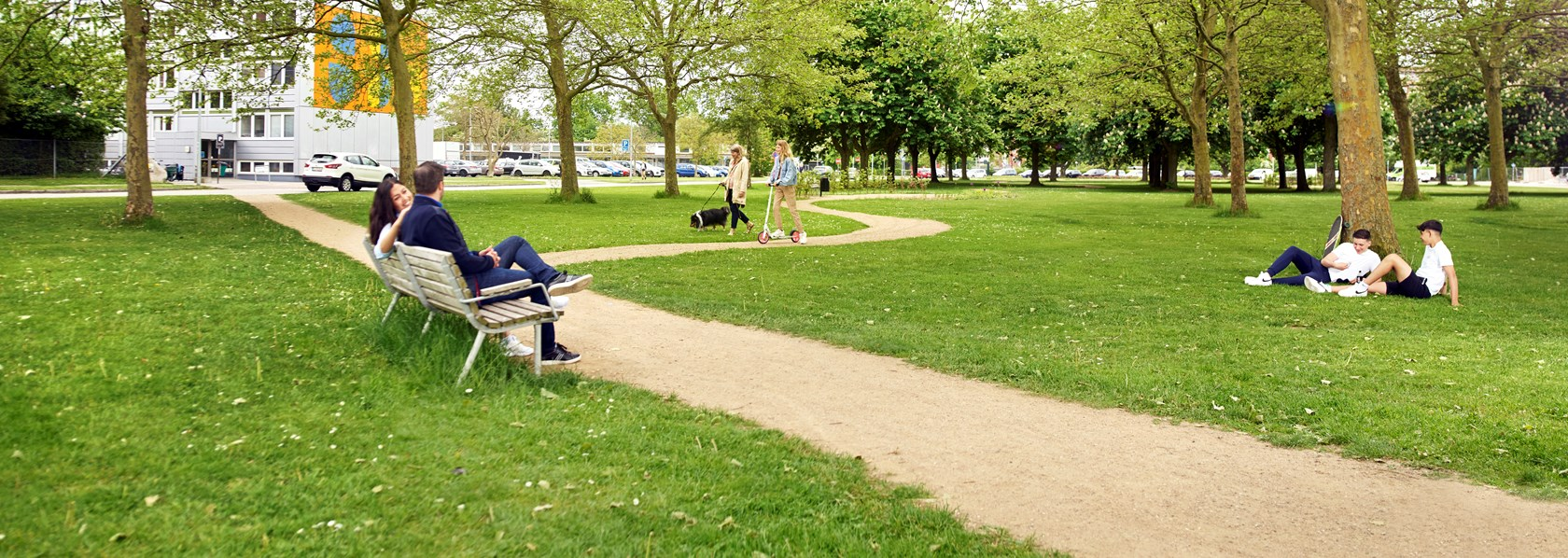 Parken på Nygårds Plads